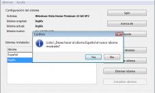 Cambiar el idioma de Windows en segundos