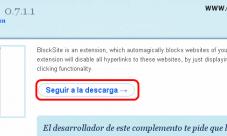 Como bloquear paginas web en Firefox e Internet Explorer