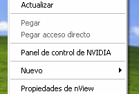 Deshabilitar Protector de Pantalla en Windows XP