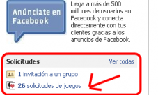 No recibir solicitudes de juegos en Facebook