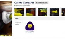 Perfil de Facebook con estilo