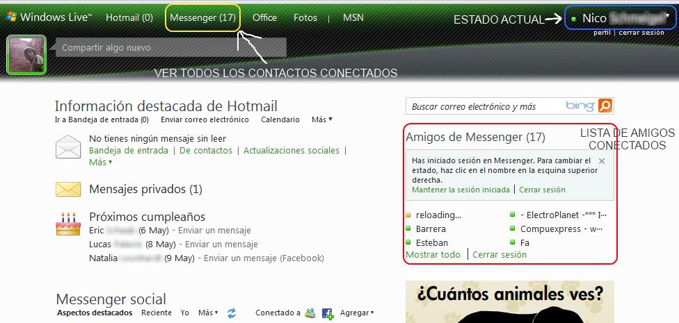 Hotmail Live.De
