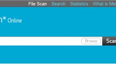 Antivirus para escanear archivos en linea
