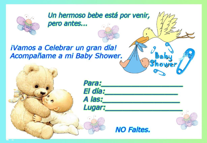 Baby Shower invitacion