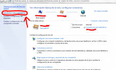 Recuperar contraseña de red WiFi en Windows 7