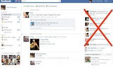 Tips para eliminar el ticker de Facebook