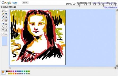 S cale provecho al paint for Google paint online