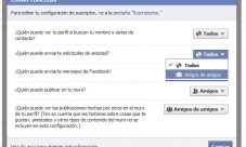 Facebook, como evitar solicitudes de amistad no deseadas