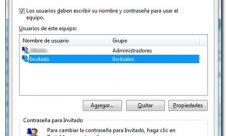 Como poner contraseña a la cuenta de invitado en Windows 7