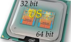 Procesador 32 bits Versus procesador 64 bits