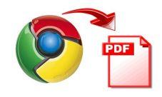 Como crear un archivo PDF con Google Chrome