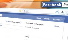 Facebook Runner para saber el tiempo que llevas en Facebook
