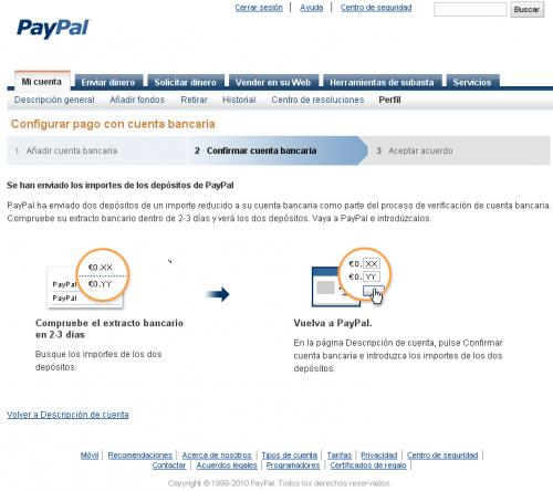PayPal Payoneer Bancaria 3