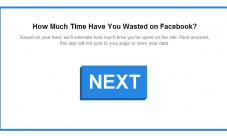 Cuanto tiempo pasas en Facebook?