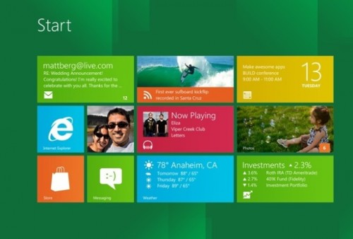 Windows 8 - Interfaz Metro